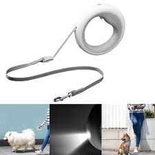 Led Lights For Dog Walking Moestar Ufo 2 6m Retractable Pet Leash Rechargeable Led Night Light 50kg Static Tension Dog Traction Rope From Xiaomi Youpin