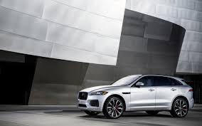 Picture Jaguar F-Pace Silver Color Automobile 2880x1800 Auto Cars