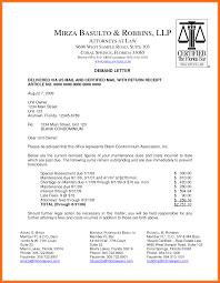 sample demand letter legal demand letter sample