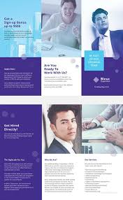 Recruitment Brochure Template Recruitment Brochure Template How To Stay Healthy Health