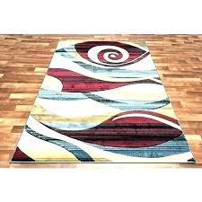 red and tan area rugs black brown modern rug blue