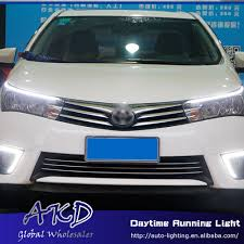AKD One Stop Shopping LED Eye Brow for Toyota Corolla LED DRL ...