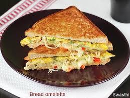bread omelette sandwich swasthi s recipes
