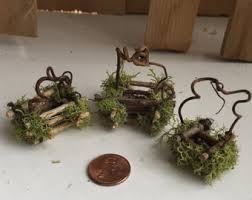 furniture fairy. Fairy Accessories ~ Tiniest Basket By Olive, Houses Garden, Fairies, Furniture -