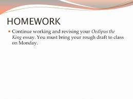 blending quotations western literature ppt homework continue working and revising your oedipus the king essay