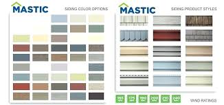 Mastic Siding Color Chart Mastic Vinyl Siding Structure Reviews Overhang Webwolf Co