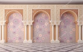 premium photo arabic wall design with