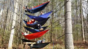 Stacking Eno Hammocks 6 High! (first try ever) - YouTube