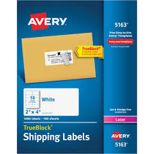 Avery Template 5163 Ave5163