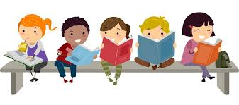 Image result for children in the library cartoon