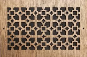 Laser Cut Wood Grille