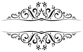 wedding scroll flourishes clipart (65 ) Wedding Invitation Flourish Graphics wedding flourishes clipart Handmade Wedding Invitations