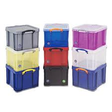 Storage Boxes 35 Litre Really Useful For Archiving A4 Documents