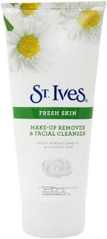 the i m going to be talking about is st ives makeup remover and cleanser let s get straight to it