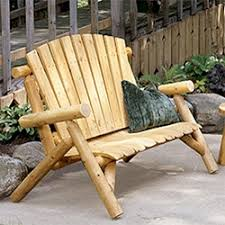 Personable Log Patio Furniture Set With Kitchen Decor Ideas Rustic