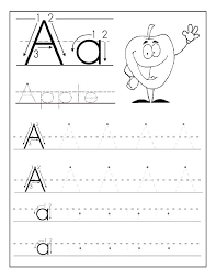 Kindergarten Abc Tracing Worksheets Awesome Collection Of Tracing ...