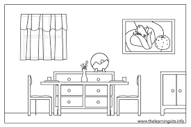 Small Picture Rooms Of The House Colouring Coloring Coloring Pages