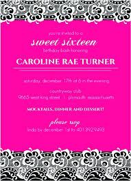 17th birthday party invitation wording 17th birthday party invitations awe