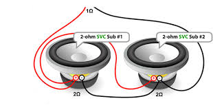 2 2 ohm subwoofer wiring 2 image wiring diagram subwoofer wiring diagram sonic images 10 inch dvc subwoofer on 2 2 ohm subwoofer wiring