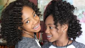 Crowshade Hair Style crochet braids invisible part kid friendly protective style 2485 by wearticles.com