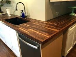 wood countertops chopping block how