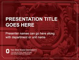 College Ppt Templates Powerpoint Presentations The Cfaes Brand
