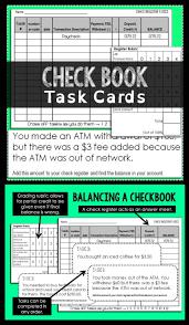 Checkbook Balance Sheet Register Worksheet 1 Answers Order Of Task