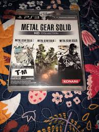 Metal Gear Solid Hd Collection Sony Playstation 3 2011 Ebay