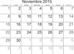 Calendarios Para Imprimir 2015 Calendario Para Imprimir Nov 2015 Calendarios Para Imprimir