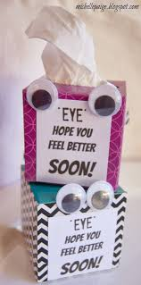 Michelle Paige Get Well Soon Tissue Box Gift Things I Like Get