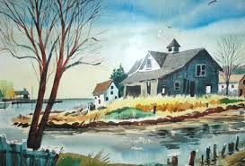 fine art paintings masters.  Fine Watercolor Painting By My Father Gordon Porter With Fine Art Paintings Masters