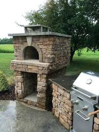 outdoor fireplace pizza oven combo luxury 9 best ovens images on of combination and n kits