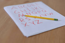 How To Make The Alphabet Using Graph Paper
