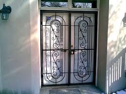 sliding glass patio door security gate