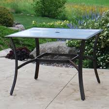 backyard creations reg somerset square dining patio table