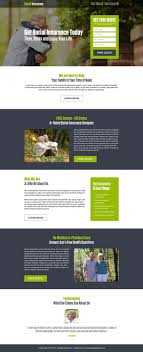burial insurance free quote lead generation landing page design