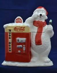 Coke Polar Bear In Bottle Vending Machine Simple COCACOLAPOLARBEARCeramicCookieJarwithClassicCokeVending
