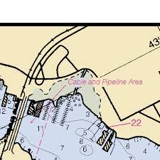 Ortega River Chart 11491 St Johns River Broward Point To