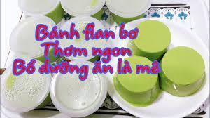Cách làm bánh flan bơ nước cốt dừa- hay chè bơ- thạch bơ-thơm ngon mềm  dẻo-My Huynh channel - YouTube