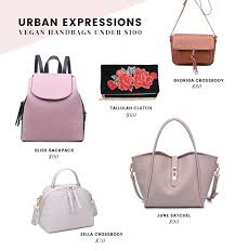 uk based vegan handbag brand that guarantees all of their stylish bags and accessories are animal free meaning the lovely things does not use leather