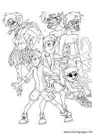 Wild Kratts Coloring Pages Pbs Black And White The Printable