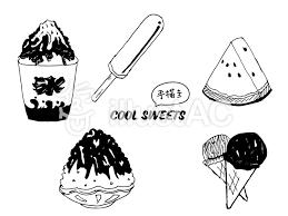 夏の食べ物イラスト No 1492257無料イラストならイラストac