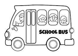 Small Picture School Bus Coloring Page Picture Coloring School Bus Coloring Page