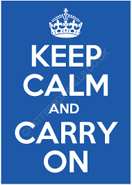 How To Make A Keep Calm Poster The History Of The Keep Calm And Carry On Poster The
