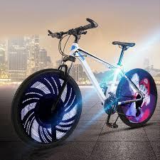 details about bicycle light diy programmable 64 leds bike wheel spoke light ipx6 waterproof ib