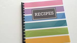 How To Make A Recipe Book How To Quickly Make A Diy Recipe Book Plus Free Printable Recipe Pages And Book Cover