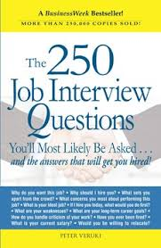 Job Interview Books The 250 Job Interview Questions Book By Peter Veruki Official