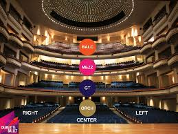 The Belk Theater Seating And Parking Charlotte Ballet