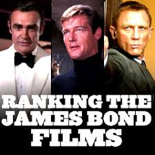 James Bond Comparison Chart James Bond Films Ranking The Best And Worst