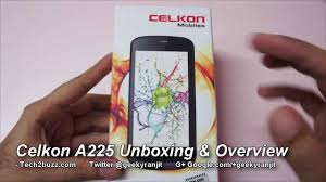 Celkon A225 budget android phone ...